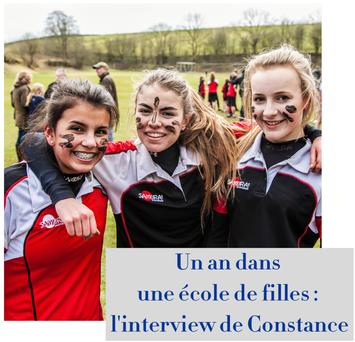 article de blog : un an dans une école de filles