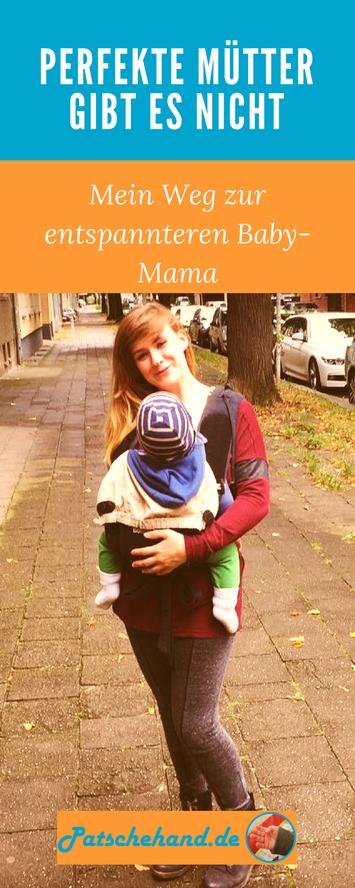 """Grafik zum Pinnen meines Artikels über meinen Perfektionismus als Mutter auf """"Pinterest""""."""