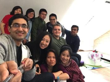 MBAクラスメートとホームパーティー