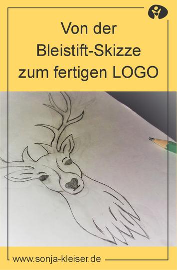 Von der Bleistiftskizze zum fertigen Logo - Sonja Kleiser