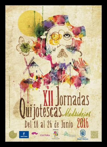 Programa de las Jornadas Quijotescas en Madridejos