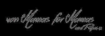 Slogan: von Mamas für Mamas