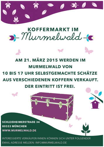 Glücksmeise im Murmelwald am 21.3.2015 von 10 bis 17 Uhr