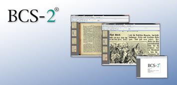 BCS-2 Software zum Scannen / Nachbearbeiten / Publizieren