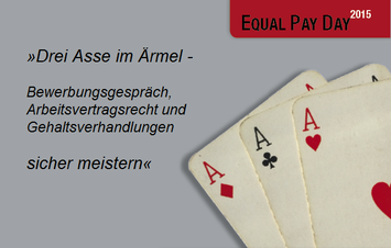 Equal Pay Day 2015 Dresden Vortragsabend im *sowieso*