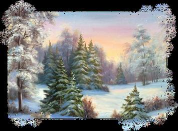 Расскажите детям о зиме