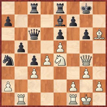 Kirch - Lehmann: Weiterhin gewannen hier die Ideen 26.Df4 oder 26.h4 wonach Schwarz keine sinnvolle Verteidung erfinden kann. Das stattdessen gespielte 26.Lg5? jedoch nicht mehr da die Dame zu nahgekommen ist und den Springer fesselt.