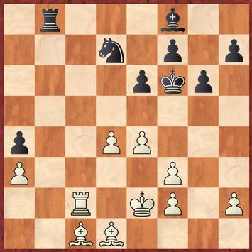 Mauelshagen - Brensing: Martin verpasste hier 34.Tc7! mit der Idee 37. ... Sb6 38.Lf4 und der kaum parierbaren Abzugsdrohung Txf7!