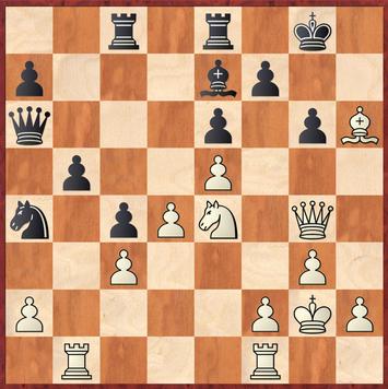 Kirch - Lehmann: Hier gewinnen viele Züge für Weiß, z.B. 25.Df4, 25.h4, 25.Lg5 - das gespielte 25Kg1?! verdarb noch nichts ließ aber zu dass die schwarze Damen über c6 wieder näher zum König kam.