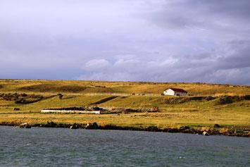 Estancia près de Puerto Natales en Patagonie