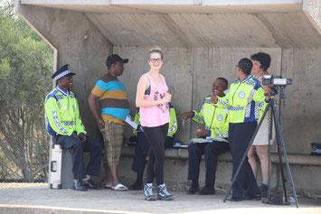 Interpellation par la police swazilandaise