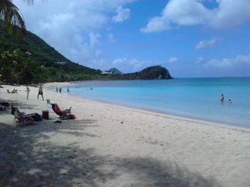 Mein Lieblingsstrand auf Tortola