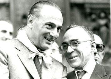 Enrico Mattei e Giorgio La Pira
