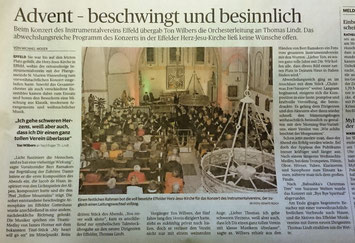 Rheinische Post 6.12.2017 - Artikel zum Vergrößern einfach anklicken