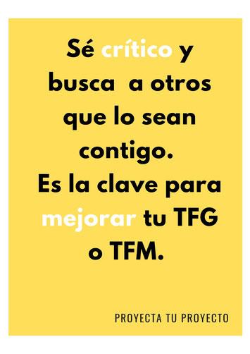 Cómo mejorar tu TFG o TFM
