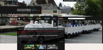 Site internet Office de Tourisme de La Ferté Bernard