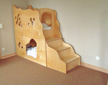 schlafh hlen schlafburg schlafburgen spielburg spielburgen schlaf und spielburg schlaf. Black Bedroom Furniture Sets. Home Design Ideas
