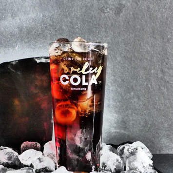 Loreley Cola on the rocks