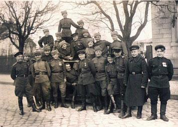 Besatzer in der Werderstraße (Bild: BVA)