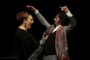 """Titelfoto zu """"Improvisao"""" mit Farruquito im tanzhaus nrw 2017 / Colo-Foto by Boris de Bonn"""