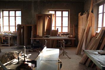 Tischler Zeitarbeit Werkzeug Wand