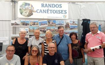 Randos Canétoises  au forum des associations le 7 septembre à Canet en roussillon