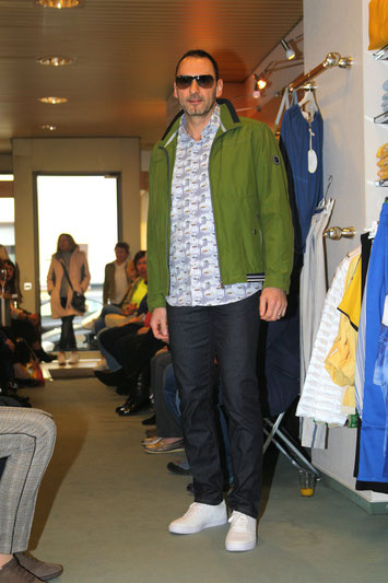 Hose Alberto, Shirt Mode Monte Carlo