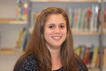 Katharina Zipp unterrichtet jetzt Sport, Mathematik und Kunst an der GBS.