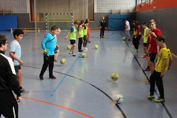 Aktuell: Die Fußball-AG im Schj. 2015-16