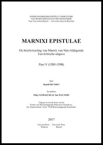 Briefwisseling van Marnix van Sint-Aldegonde