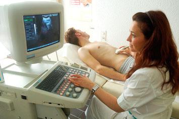 Ultraschalldiagnostik (Sonographie)