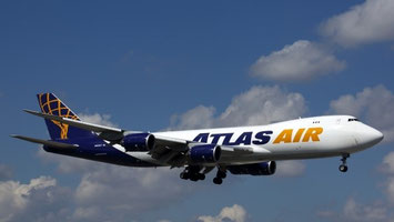 Atlas Air is currently flying high