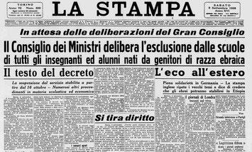 La Stampa, 3 settembre 1938