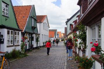 Holnis Fischerort von Schleswig