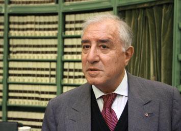 Marcello Dell' Utri è considerato il piu' grande collezionista di libri antichi in Italia