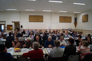 Séance du Conseil communautaire de la CARCT à Condé-en-Brie.