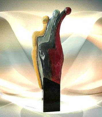 Moderne Deko und Design Figur