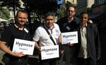 Quelques Hypnotiseurs de rue à Montpellier