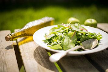 Leckeres Rezept mit Trüffelöl - Nudeln mit Spinat