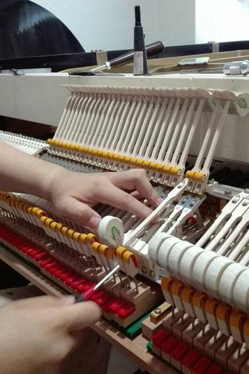 福岡 調律 修理 ピアノ 中古ピアノ グランドピアノ ヤマハ G3 C3 修理