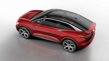 VW präsentiert an der IAA 2017 in Frankfurt die SUV/Coupé Crossover Studie I.D. CROZZ