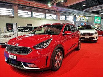 Kia konnte an der Auto Zürich leider nur die Hybrid Version präsentieren