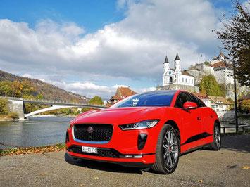 Jaguar bietet für den I-PACE ausgedehnte Probefahrten an