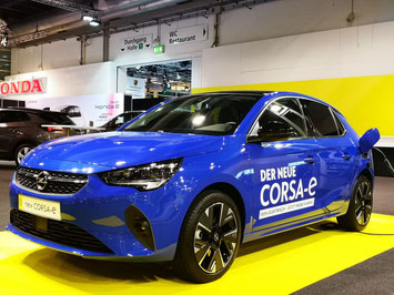 Nach 37 Jahren nun auch elektrisch: der Opel CORSA-e