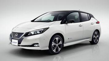 Der neue Nissan Leaf, ab 2018 in der Schweiz erhältlich