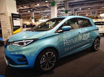 Die neue Renault Zoe mit der grösseren 52 kWh Batterie