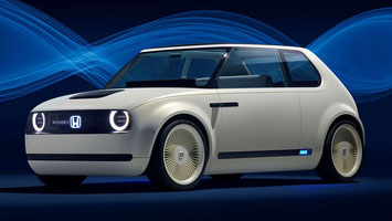 Honda präsentiert die Studie Urban EV Concept an der IAA 2017 in Frankfurt