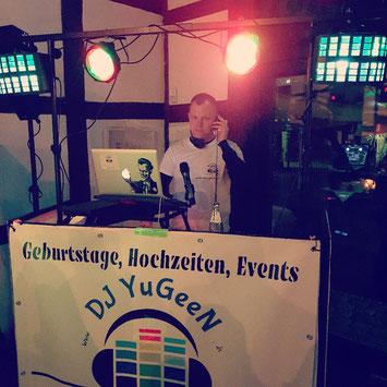 DJ Yugeen @work