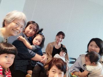 浦安音楽ホールでの「子育てママの息抜きワークショップ」ひとコマ