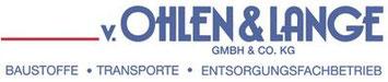 v. Ohlen & Lange GmbH & Co. KG  Arster Hemm 56  28279 Bremen  Bremen Obervieland